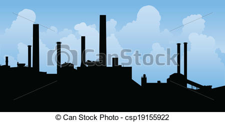 Factory clipart industrial area Of Clipart Landscape Manufacturing Manufacturing