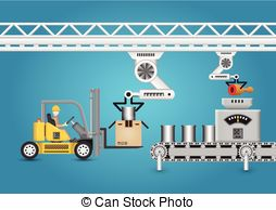 Factory clipart manufacturing equipment A on  equipment Production