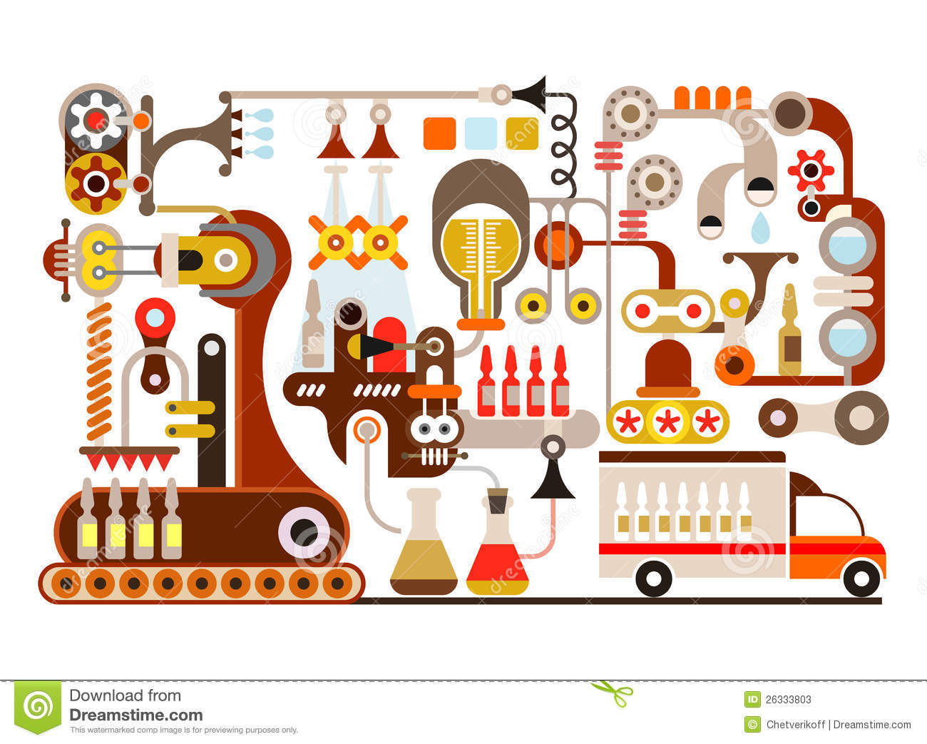 Factory clipart oil factory Manufacturing Equipment Clipart Art Manufacturing