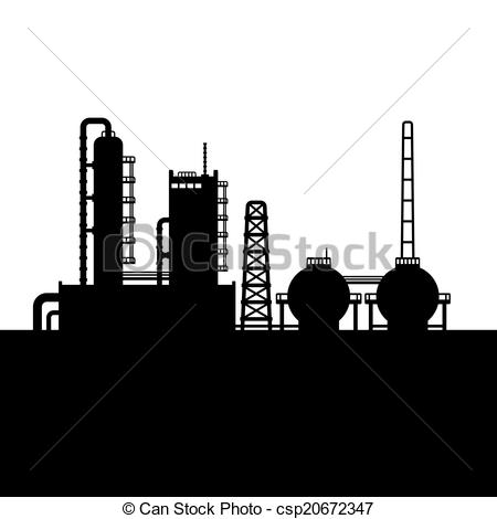 Factory clipart oil factory Chemical Factory Factory csp20672347 and