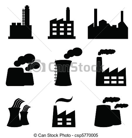 Factory clipart power generation Power Vector 152  plants