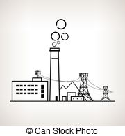 Factory clipart power generation Illustration Graphics Power  station