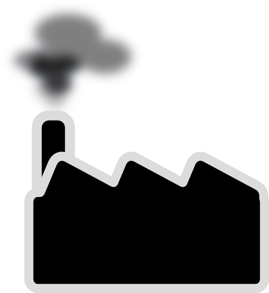 Smog clipart black and white #15