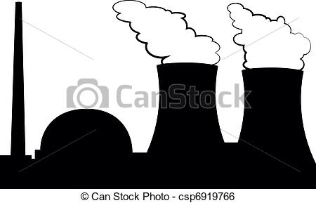 Factory clipart power plant Nuclear Nuclear Collection power plant