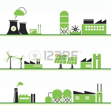 Factory clipart power plant Cliparts Clipground 881 Power And