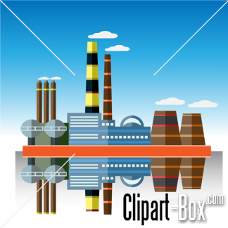 Factory clipart power plant PLANT POWER PLANT FACTORY FACTORY