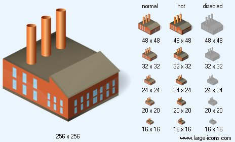 Factory clipart power plant Plant Power Plant Icon Icon