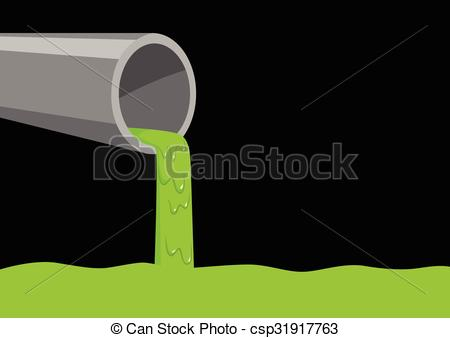 Factory clipart vector art Vector green pouring  csp31917763