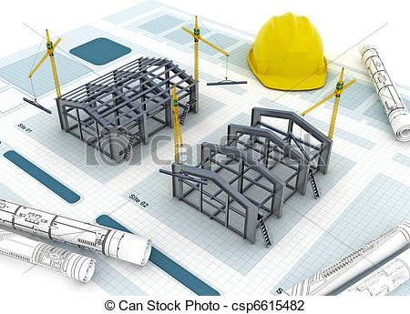 Factory clipart warehouse building Clip Factory Concept designing and