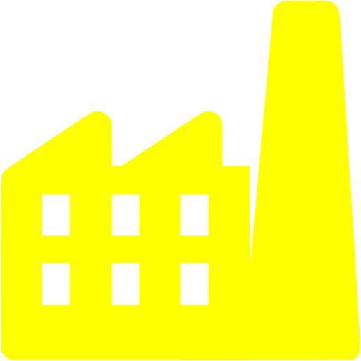 Factory clipart yellow Free Yellow yellow icon icon