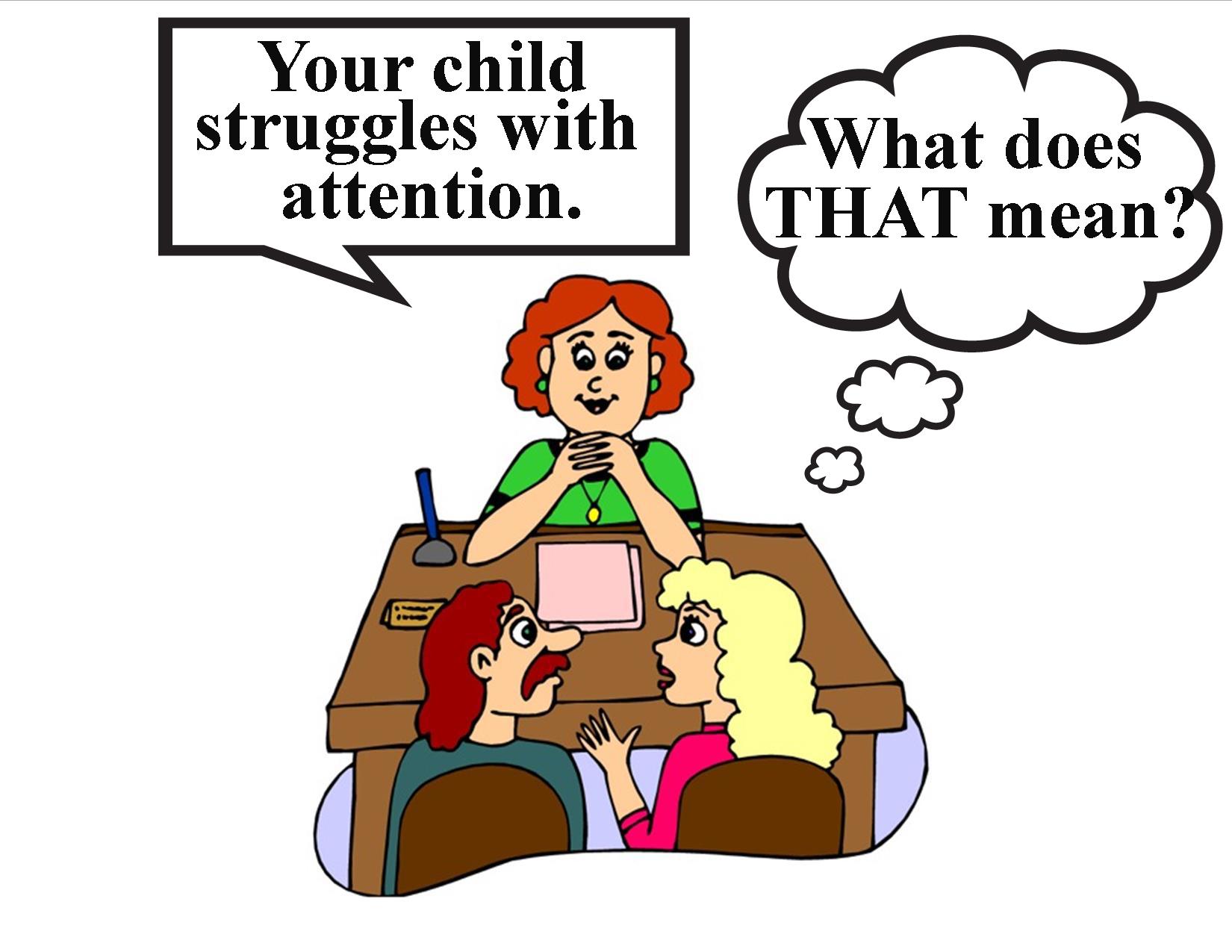 "Fail clipart adhd child ADHD Uplifting Study "" conf"