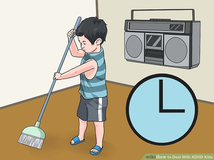 Fail clipart adhd child WikiHow Image to Step ADHD