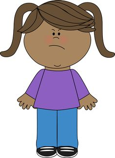 Chick clipart scared Emotions Girl mycutegraphics art com