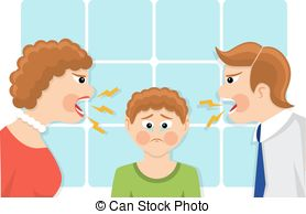 Fail clipart angry mother Of of fami upset Illustration