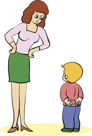 Fail clipart angry mother Say mother