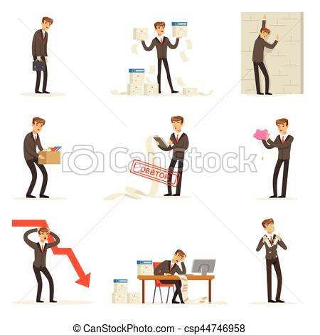 Fail clipart at work Debt Of Business Clipart Being