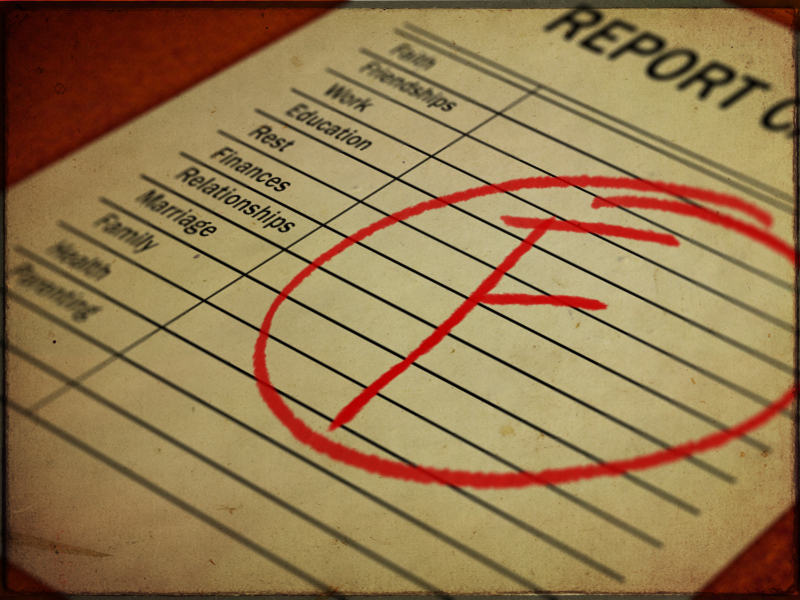 Fail clipart bad report card 2013 2013 Blogs July the