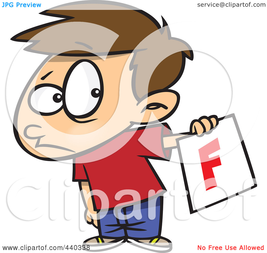 Fail clipart bad report card Free Student Clipart Clipart Images