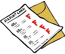 Fail clipart bad report card The fail Life's Sojournaler Report