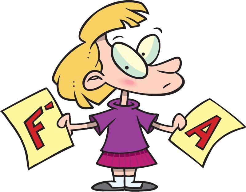 Fail clipart bad report card Report Talk Church Card Mom