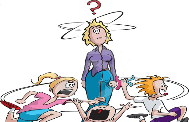 Mommy clipart babysitting Frazzled Free on Clip