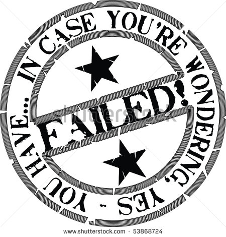 Fail clipart black and white Clipart Your Wondering cliparts Failed
