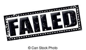 Fail clipart black and white Clip Throwing Boy failed