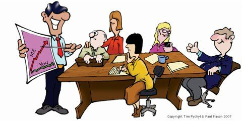 Meeting clipart group work Groups: Implications in Workplace Deadlines