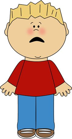 Fail clipart frustrated kid Of White Face Boy and
