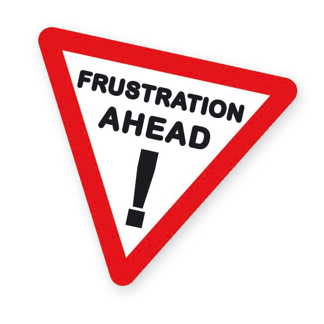 Fail clipart frustration Books At handle frustrated From