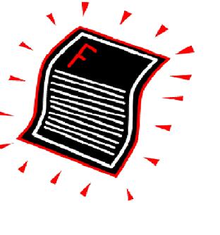 Fail clipart high grade Failed Student Download Art