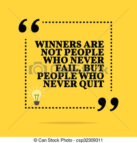 Fail clipart not Of Winners fail quote Clip
