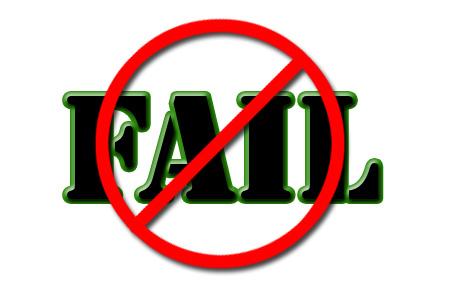 Fail clipart not One The Fail failure Way