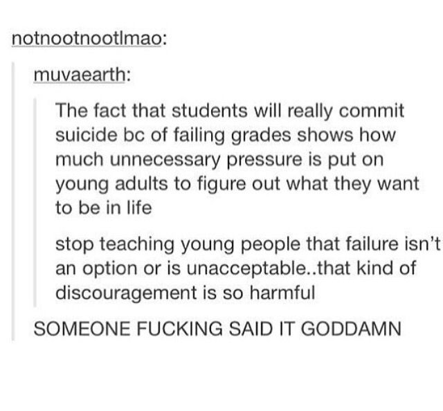 Fail clipart school stress To because Best School suicide