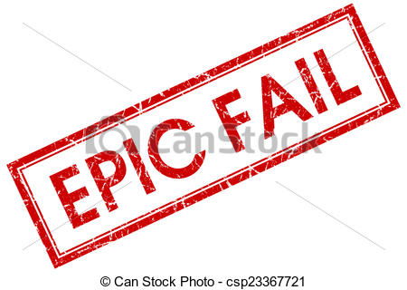 Fail clipart stamp Epic of Illustration white Clip