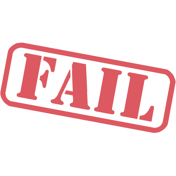 Fail clipart stamp Stamp Fail PNG PNG All