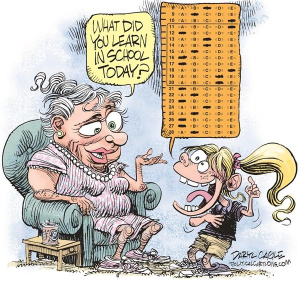 Fail clipart test score Us report schools fail designed