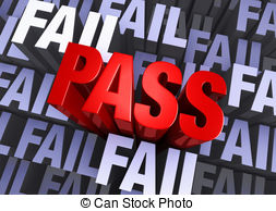 Fail clipart test score Exam Pass Toggle Fail Fail