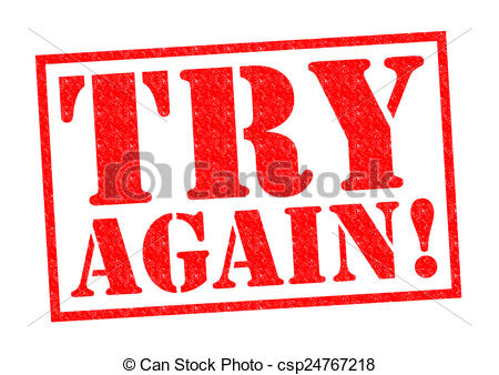 Fail clipart try again Fail you of till AGAIN!