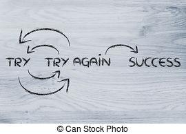 Fail clipart try again Success try Try fail success