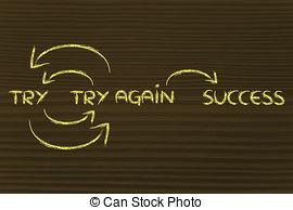 Fail clipart try again Success and Fail  9