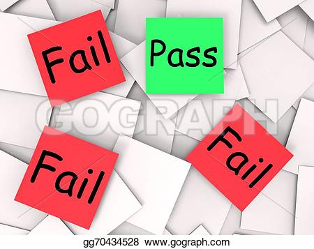 Fail clipart unsuccessful Post approved it Stock it