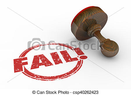 Fail clipart word Failure Reject Stamp Reject of