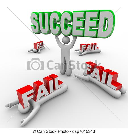 Fail clipart word Fail Others Holds Succeed Successful