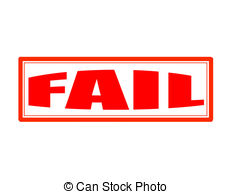 Fail clipart word Illustration of background red Fail