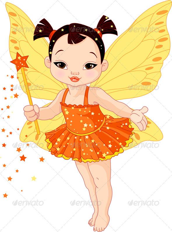 Asian clipart angel Babies Asian Fairy Baby fairy