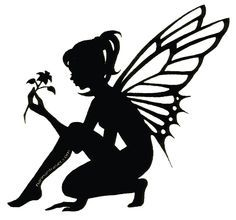 Shadow clipart tinkerbell Silhouette ideas on com