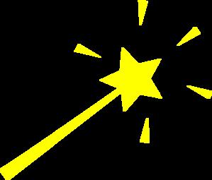 Yellow clipart wand Art online com  Wand