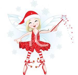Ballerina clipart christmas #1