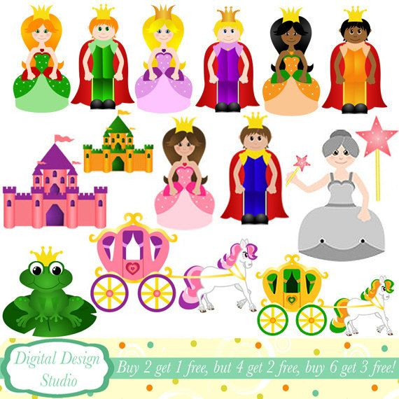 Fairy Tale clipart Clip commercial on Princess use
